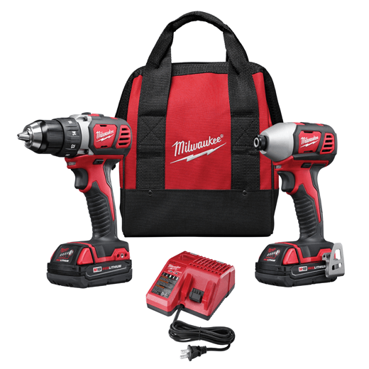 Milwaukee 2691-22 18V Combo Kit