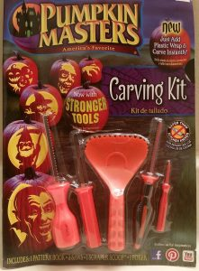 Pumpkin Masters America's Favorite Pumpkin Carving Kit