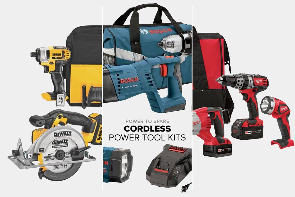 best power tool combo kits