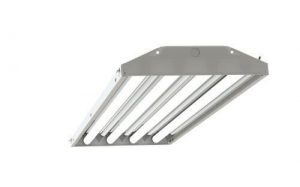 4-lamp T5 HO High Bay Fluorescent Lighting Fixture High Output T5HO
