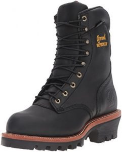Chippewa-Men's-9″-Waterproof-Insulated-Steel-Toe-EH-Logger-Boot